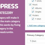 WordPress Primary Category